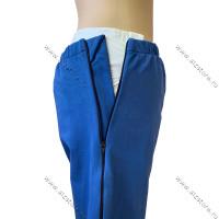Хлопковые адаптивные брюки для лежачих больных